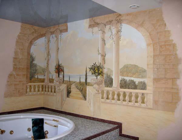 Роспись стен роспись на стенах настенная роспись